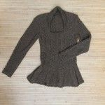 Esme Cable Jumper with Picot Edge